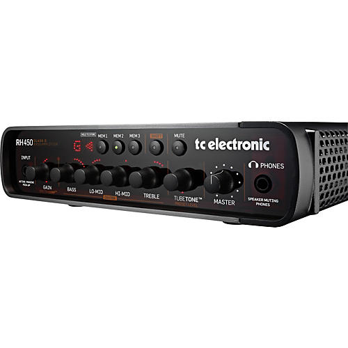TC Electronic RH450 Bass Amp Head-thumbnail