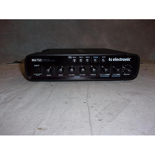 used tc electronic rh750 750w bass amp head guitar center. Black Bedroom Furniture Sets. Home Design Ideas