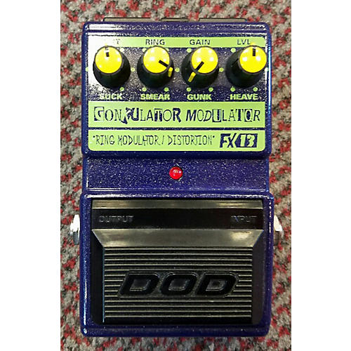 DOD RING MODULATOR/DISTORTION FX13 Effect Pedal-thumbnail