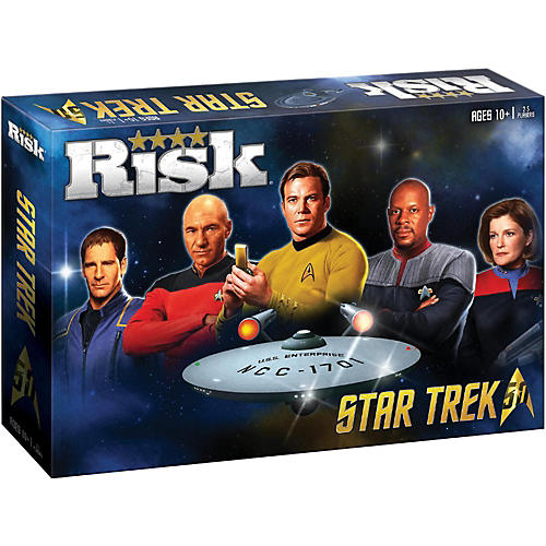 USAOPOLY RISK: Star Trek 50th Anniversary Edition-thumbnail