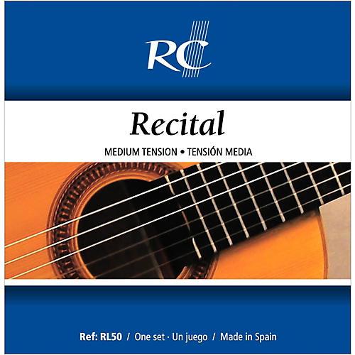 RC Strings RL50 Recital Medium Tension Nylon Guitar Strings