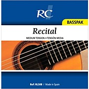 RC Strings RL50B Recital Basspak - Medium Tension 4th, 5th and 6th strings for Nylon String Guitar