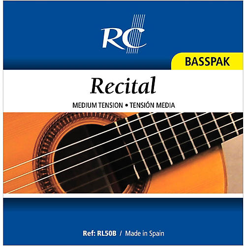 RC Strings RL50B Recital Basspak - Medium Tension 4th, 5th and 6th strings for Nylon String Guitar-thumbnail