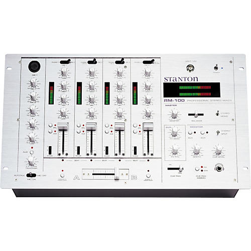Stanton RM-100 4-Channel Stereo Pre-amp Mixer