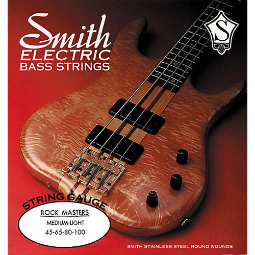 Ken Smith RM-ML Rock Masters Medium Light 45-100 Bass Strings-thumbnail