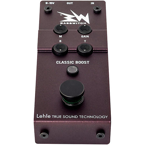 Lehle RMI Basswitch Classic Boost-Pro Equipment Pedal