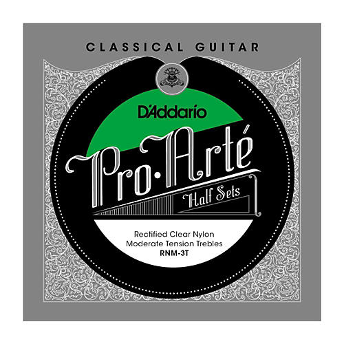 D'Addario RNM-3T Pro-Arte Moderate Tension Classical Guitar Strings Half Set-thumbnail