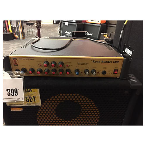 Eden ROAD RUNNER 600 Tube Bass Amp Head-thumbnail
