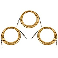 Musician's Gear ROC186 18.5 Foot Instrument Cable 3-Pack