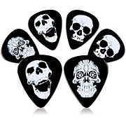 Rock Steady ROCK STEADY RPCA1 SKULL VARIETY PICKS (6 PACK)