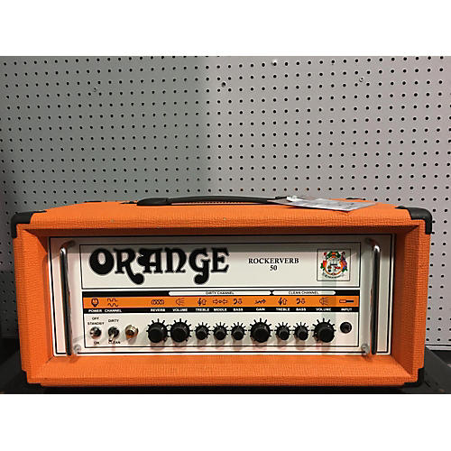 Orange Amplifiers ROCKERVERB 50 RV50H Tube Guitar Amp Head
