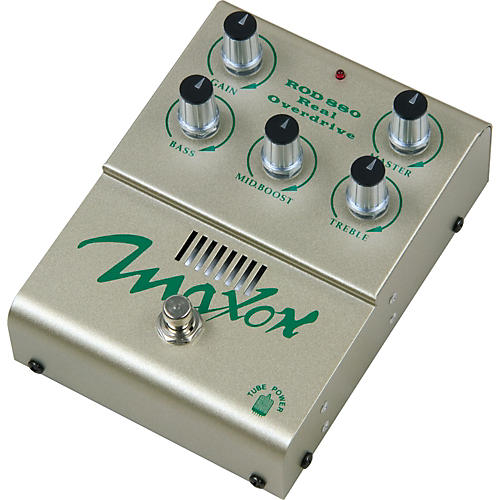 Maxon ROD880 Real Tube Overdrive Guitar Effects Pedal-thumbnail