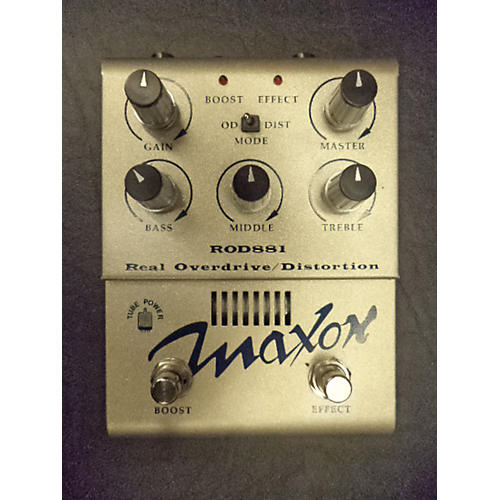 Maxon ROD881 REAL OVERDRIVE/DISTORTION Effect Pedal