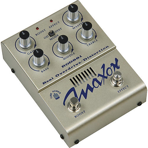 Maxon ROD881 Real Tube Overdrive / Distortion Guitar Effects Pedal-thumbnail