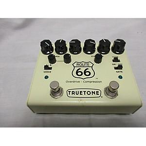Pre-owned Truetone ROUTE 66 OVERDRIVE - COMPRESSION Effect Pedal by Truetone
