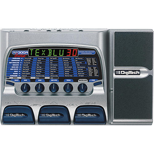 Digitech RP300A Modeling Guitar Processor