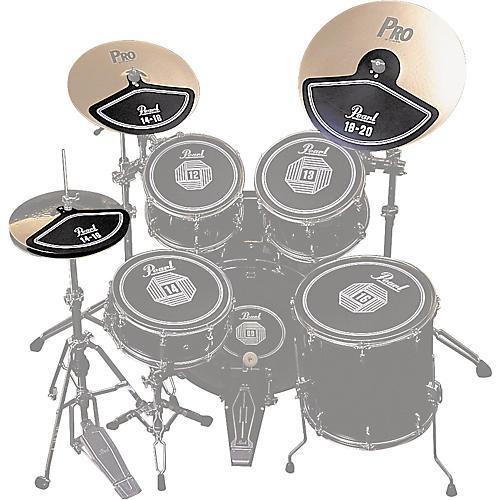 Pearl RP40C Rubber Cymbal Pad Set-thumbnail