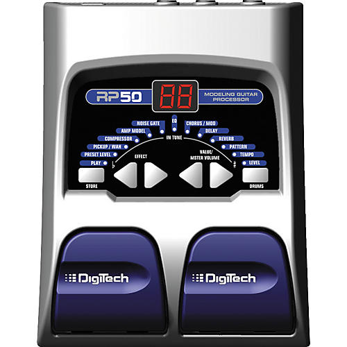 Digitech RP50 Guitar Multi Effects Pedal-thumbnail