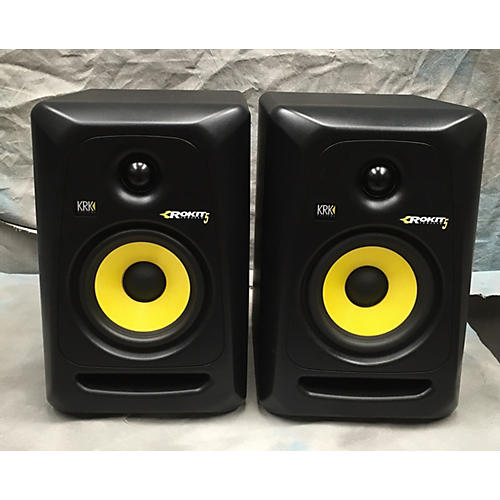 KRK RP5G3 Pair Powered Monitor-thumbnail