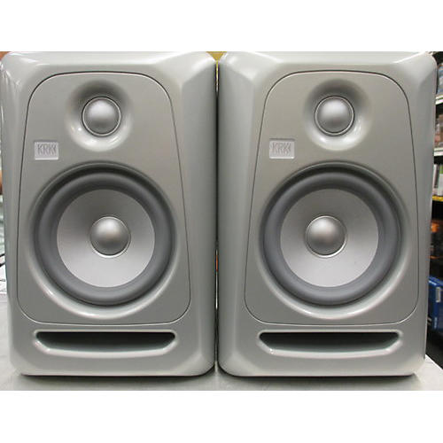 KRK RP5G3 Pair SILVER Powered Monitor-thumbnail
