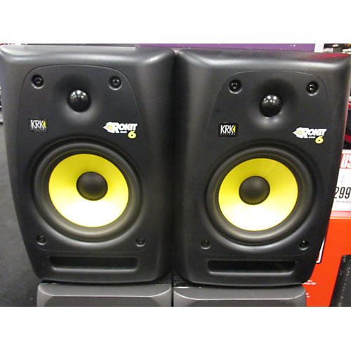 KRK RP6G2 Pair Powered Monitor