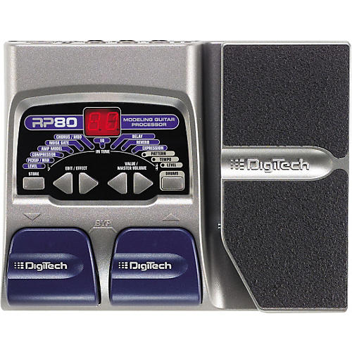 Digitech RP80 Modeling Guitar Processor-thumbnail