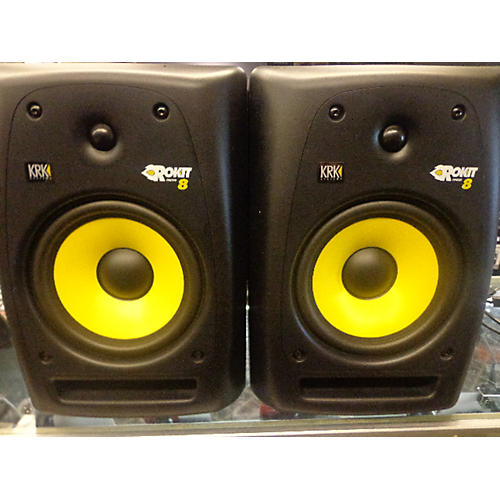 KRK RP8G2 Pair Powered Monitor-thumbnail