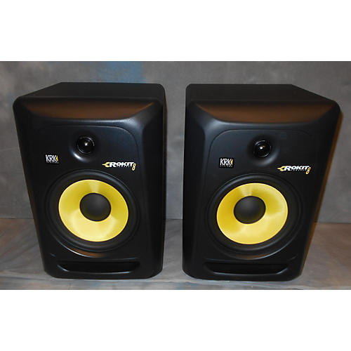 KRK RP8G3 Pair Powered Monitor-thumbnail