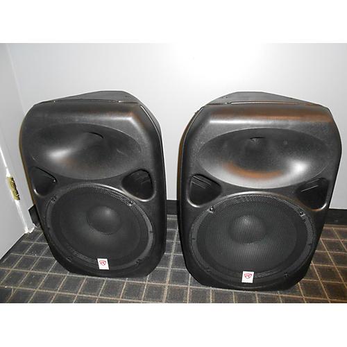 used rockville rpg 152k powered speaker guitar center. Black Bedroom Furniture Sets. Home Design Ideas