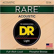 DR Strings RPM-12 Light RARE Phosphor Bronze Acoustic Guitar Strings