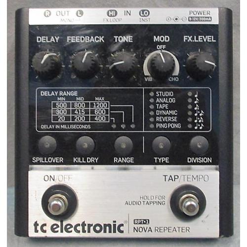 TC Electronic RPT-1 NOVA REPEATER Effect Pedal