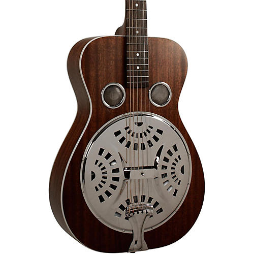 Recording King RR-51-BR Professional Roundneck Resonator Guitar-thumbnail