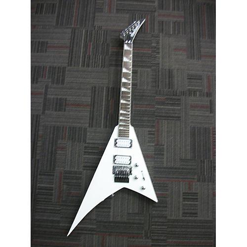 Jackson RRX24 SATIN WHITE Solid Body Electric Guitar-thumbnail