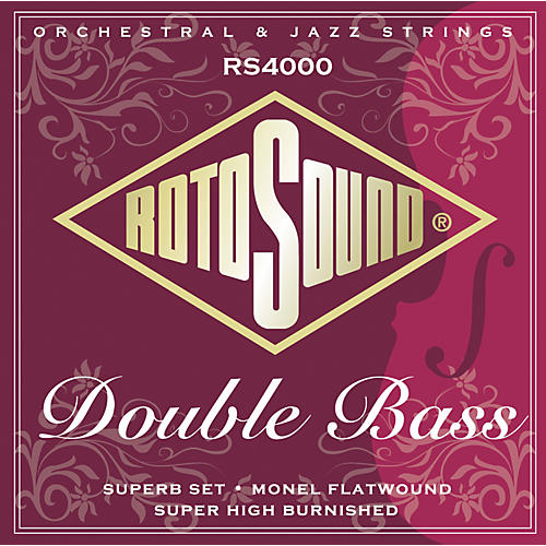 Rotosound RS4000 Superb 3/4 Size Double Bass Strings