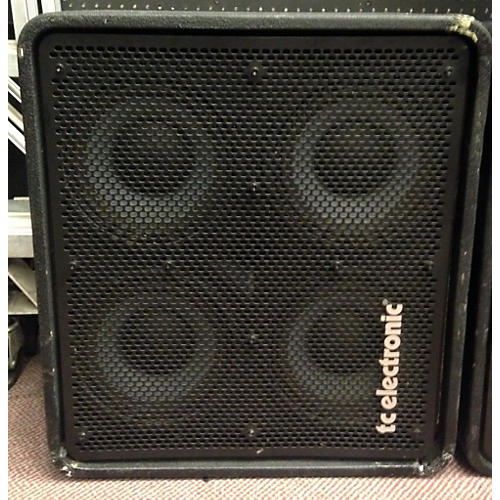 TC Electronic RS410 4x10 600W Vertical Stacking Bass Cabinet-thumbnail