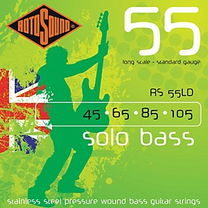 Rotosound RS55LD Solo Bass Stainless Steel Strings by Rotosound
