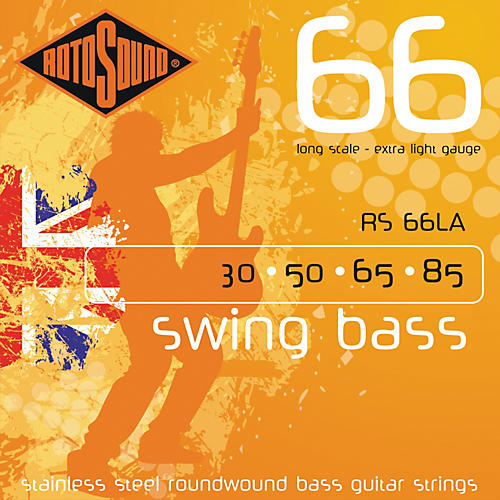 Rotosound RS66LA Extra Light Long Scale Bass Strings-thumbnail