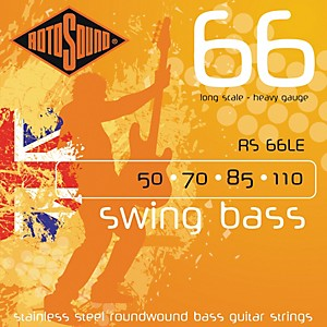 Rotosound RS66LE Heavy Long Scale Bass Strings