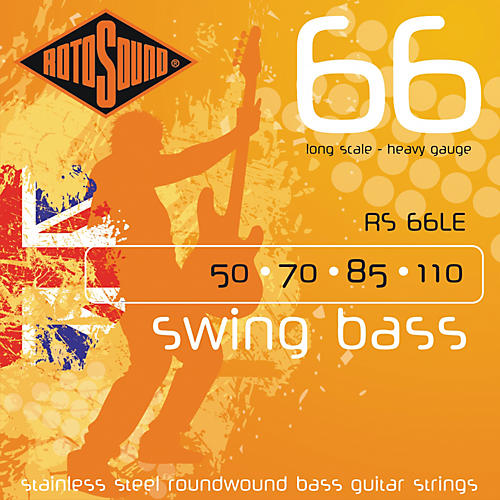 Rotosound RS66LE Heavy Long Scale Bass Strings-thumbnail