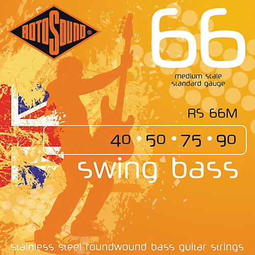 Rotosound RS66M Medium Scale Bass Strings-thumbnail