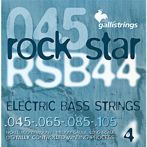 Galli Strings RSB44 ROCKSTAR Medium Bass Strings 45-105-thumbnail