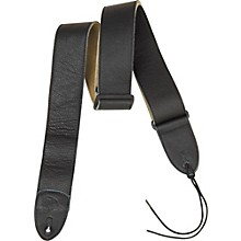 Rock Steady RSL01 Leather Guitar Strap Black