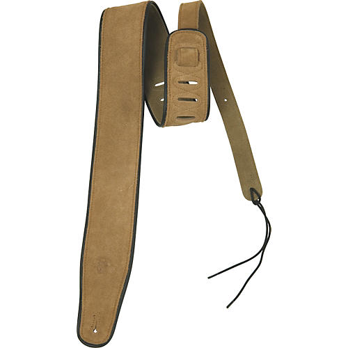 Rock Steady RSSL01 Suede With Black Edge Guitar Strap-thumbnail