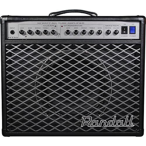 Randall RT Series RT50C 50W 1x12 Tube Guitar Combo Amp