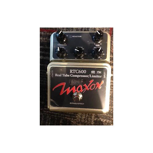 Maxon RTC600 Real Tube Compressor Limiter Effect Pedal