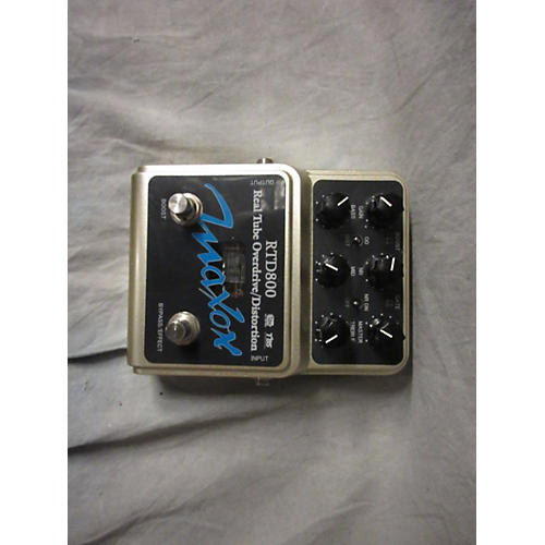 Maxon RTD800 Real Tube Overdrive/Distortion Effect Pedal-thumbnail