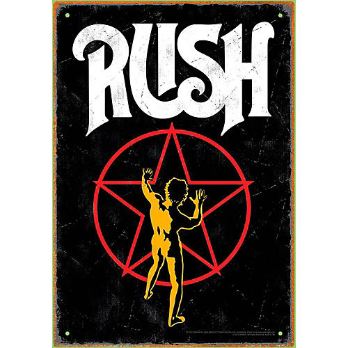 Hal Leonard RUSH Starman Tin Sign-thumbnail