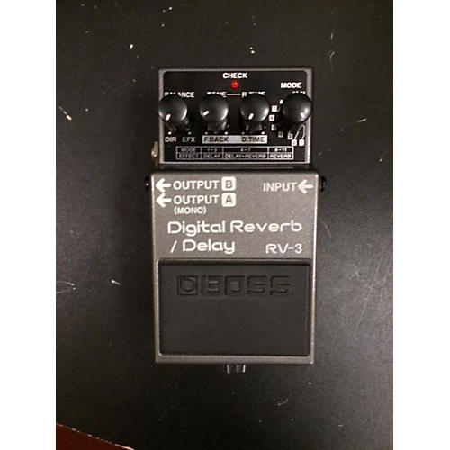 Boss RV3 Digital Reverb Delay Effect Pedal-thumbnail