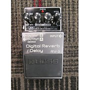 Boss RV3 Digital Reverb Delay Effect Pedal
