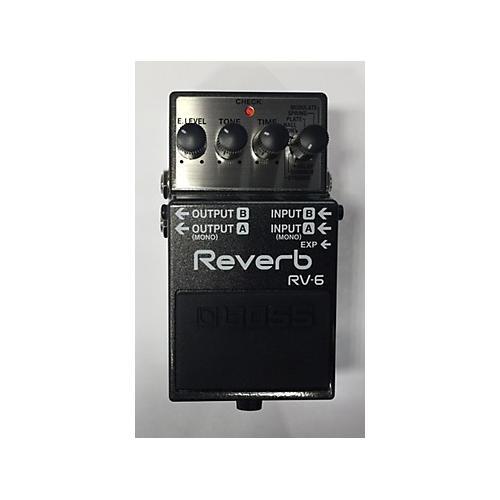 Boss RV6 Digital Reverb Effect Pedal-thumbnail